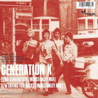 "Generation X - Your Generation (Winstanley Mix) 7"""