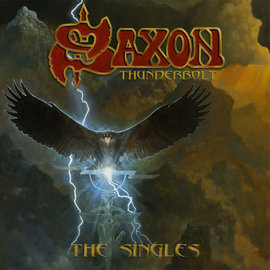 "Saxon ‎– Thunderbolt: The Singles 7"" box set"