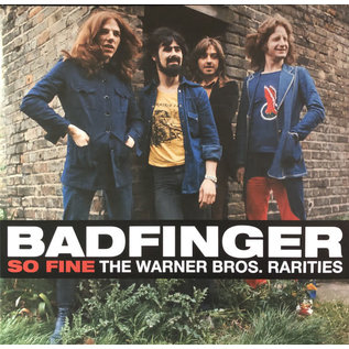 Badfinger ‎– So Fine The Warner Bros. Rarities LP red vinyl