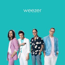 Weezer - Weezer (Teal Album) LP teal color