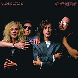 Cheap Trick ‎– The Epic Archive, Vol. 3 (1984-1992) LP flame red vinyl