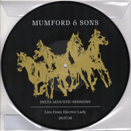 "Mumford & Sons ‎– Delta Acoustic Sessions (Live From Electric Lady 26.07.18) 10"" picture disc"