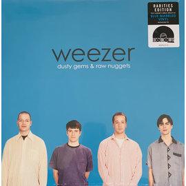 Weezer – Dusty Gems & Raw Nuggets LP translucent blue & white marble vinyl