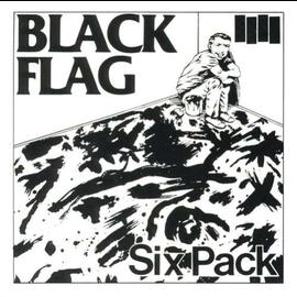 "Black Flag – Six Pack 12"" vinyl single"