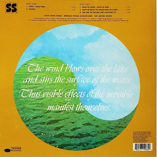 Chick Corea ‎– Now He Sings, Now He Sobs LP