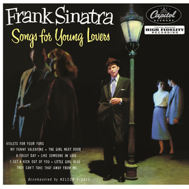 "Frank Sinatra ‎– Songs For Young Lovers 10"" vinyl"
