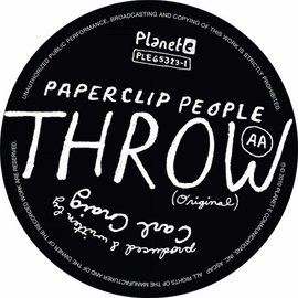 """LCD Soundsystem / Paperclip People – Throw 12"""" vinyl single"""