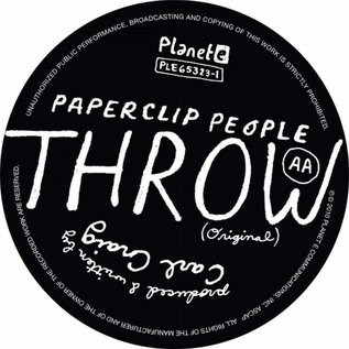 "LCD Soundsystem / Paperclip People ‎– Throw 12"" vinyl single"