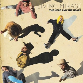 Head And The Heart ‎– Living Mirage LP green & black vinyl