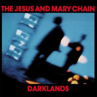 Jesus And Mary Chain – Darklands LP blue vinyl