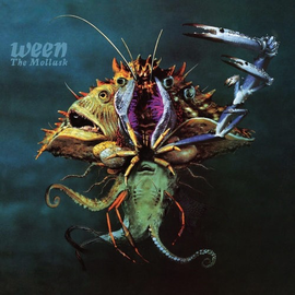 Ween ‎– The Mollusk LP green marbled vinyl