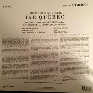 Ike Quebec – Blue & Sentimental LP