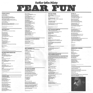Father John Misty -- Fear Fun LP with download