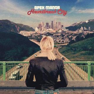 Apex Manor – Heartbreak City LP red vinyl