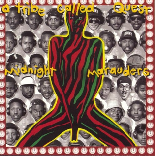 A Tribe Called Quest ‎– Midnight Marauders LP