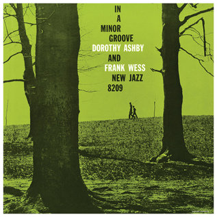 Dorothy Ashby And Frank Wess ‎– In A Minor Groove LP neon green vinyl