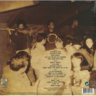 Curtis Knight Featuring Jimi Hendrix ‎– Live At George's Club 20 LP