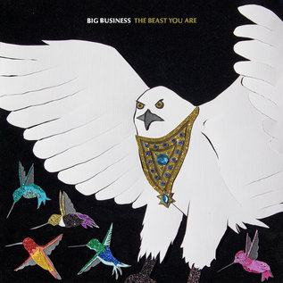 Big Business ‎– The Beast You Are LP bone colored vinyl