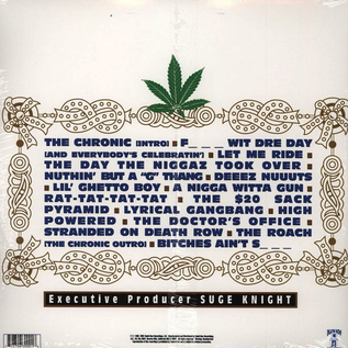 Dr. Dre ‎– The Chronic LP