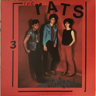 Rats ‎– In A Desperate Red LP