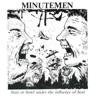 """Minutemen – Buzz Or Howl Under The Influence Of Heat EP 12"""" vinyl"""
