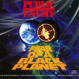 Public Enemy -- Fear Of A Black Planet LP