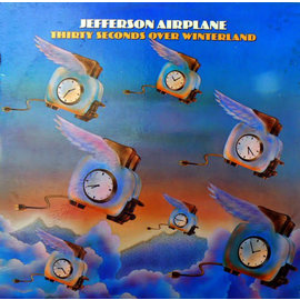 Jefferson Airplane ‎– Thirty Seconds Over Winterland LP sky blue vinyl