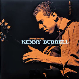 Kenny Burrell ‎– Introducing Kenny Burrell LP