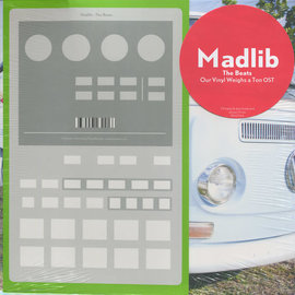 Madlib -- The Beats - Our Vinyl Weighs A Ton OST 10'' vw cover
