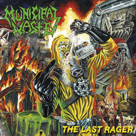 Municipal Waste - The Last Rager LP green vinyl
