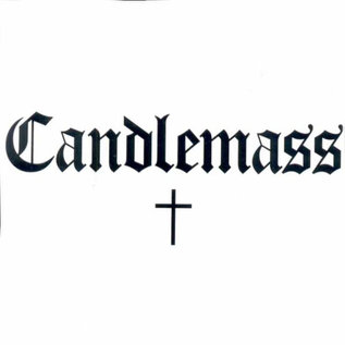 Candlemass ‎– Candlemass LP white-red/black