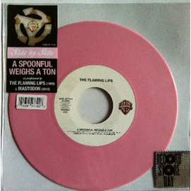 FLAMING LIPS / MASTODON -- A SPOONFUL WEIGHS A TON 7""