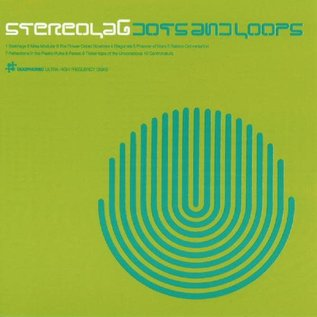 Stereolab – Dots And Loops LP clear vinyl