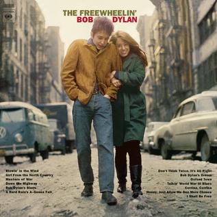 Bob Dylan -- The Freewheelin' Bob Dylan LP