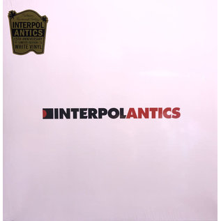 Interpol ‎– Antics LP white vinyl