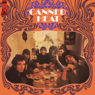 Canned Heat ‎– Canned Heat LP gold vinyl