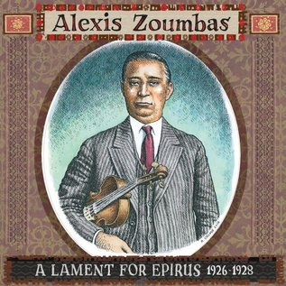 Alexis Zoumbas ‎– A Lament For Epirus 1926-1928 LP