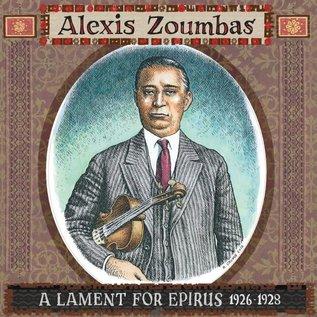 Alexis Zoumbas – A Lament For Epirus 1926-1928 LP