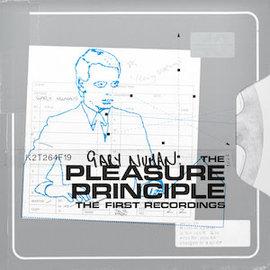 Gary Numan - The Pleasure Principle: the First Recordings LP orange vinyl