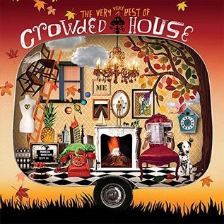 Crowded House – The Very Very Best Of Crowded House LP orange vinyl