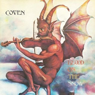 Coven ‎– Blood On The Snow LP red & white vinyl
