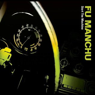 Fu Manchu ‎– Start The Machine LP green splatter vinyl