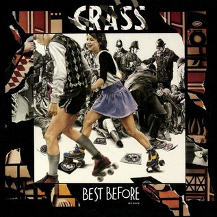 Crass ‎– Best Before...1984 LP