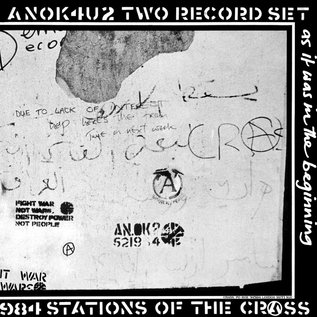 Crass ‎– Stations Of The Crass LP