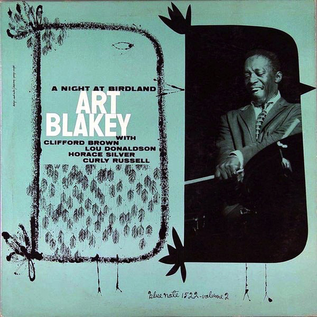 Art Blakey Quintet -- A Night At Birdland Volume 2 LP