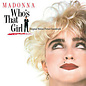 Madonna ‎– Who's That Girl LP crystal clear vinyl