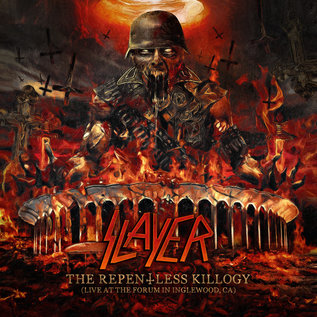 Slayer - The Repentless Killogy (Live At the Forum in Inglewood, CA) LP red, orange, and black vinyl