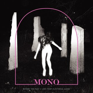 MONO - Before the Past  (Live From Electrical Audio) LP crystal clear vinyl w/ pink smoke