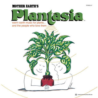 Mort Garson ‎– Mother Earth's Plantasia LP green starburst vinyl