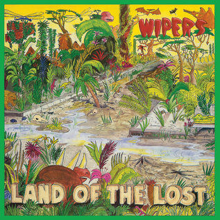 Wipers – Land Of The Lost LP blue vinyl